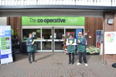 Hull FoodBank Collection, Co-op