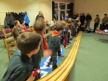 Cubs Pinewood Derby